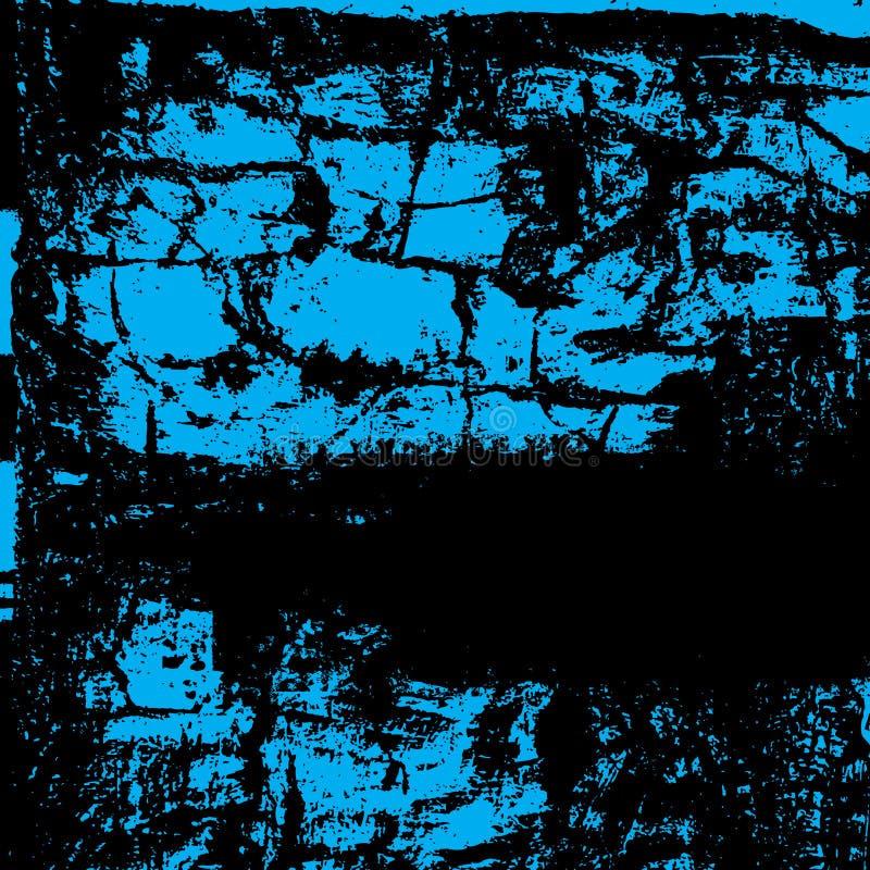Vektorgrunge Tinten-Spritzenhintergrund lizenzfreie abbildung