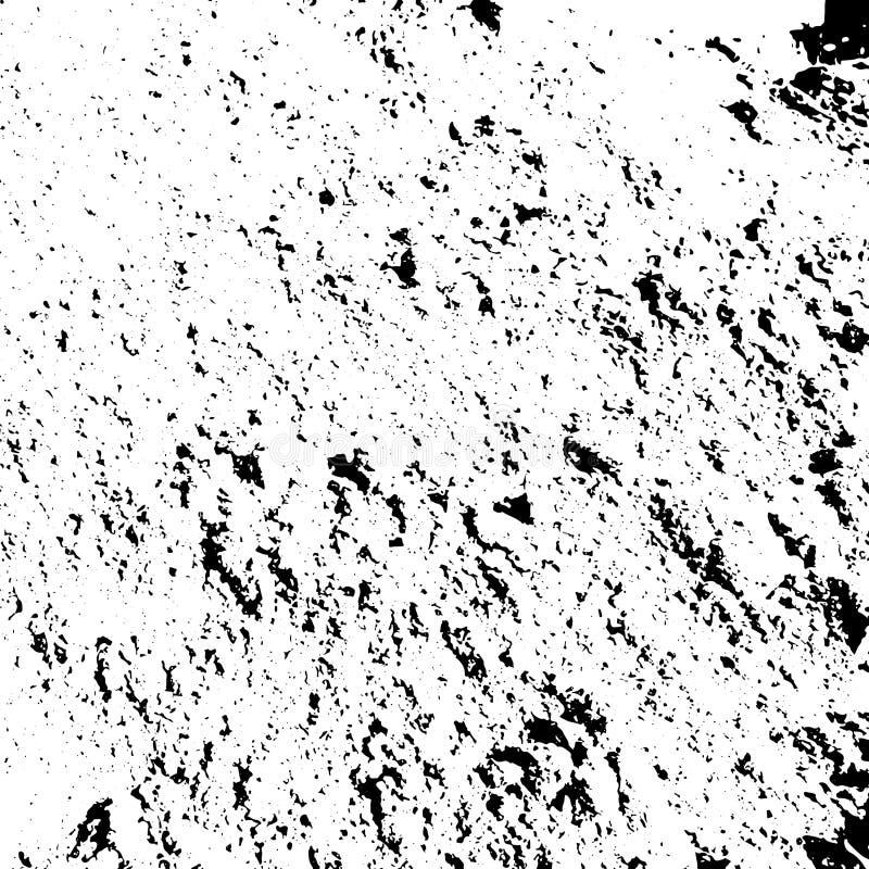 Vektorgrungetextur, hög av sand, abstrakt bakgrund vektor illustrationer