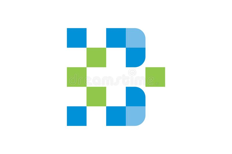 Vektorhälsovård och läkarundersökning Logo Template royaltyfri illustrationer