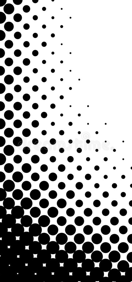 Vektorhalbtonmuster stock abbildung