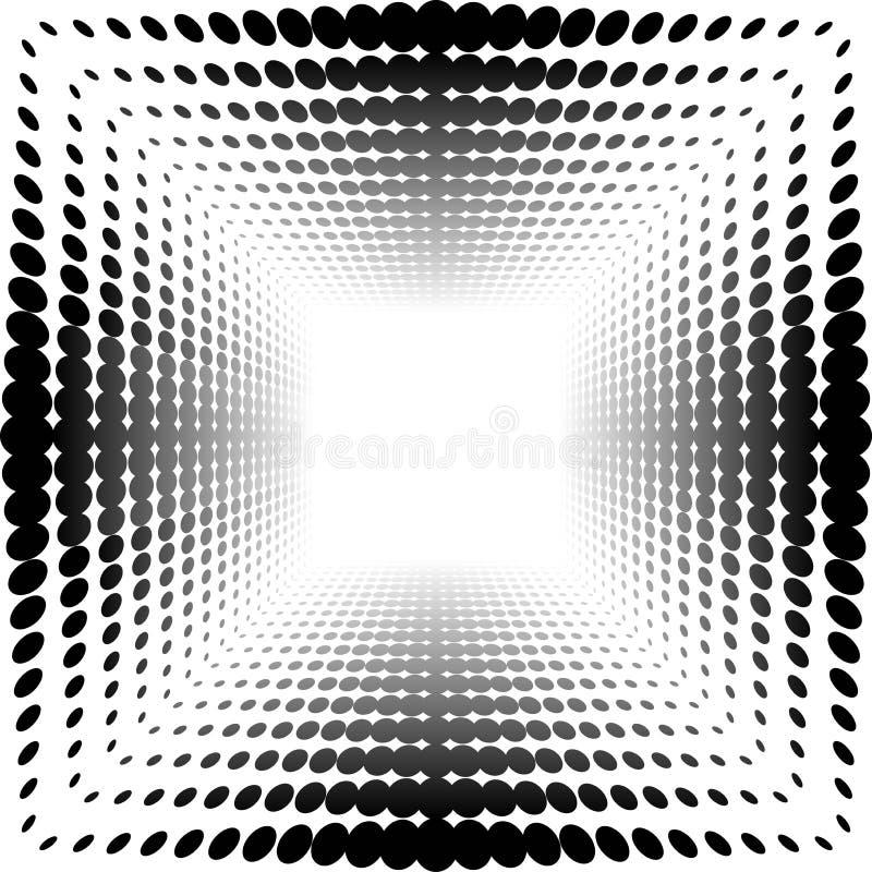 Vektorhalbtonmuster vektor abbildung
