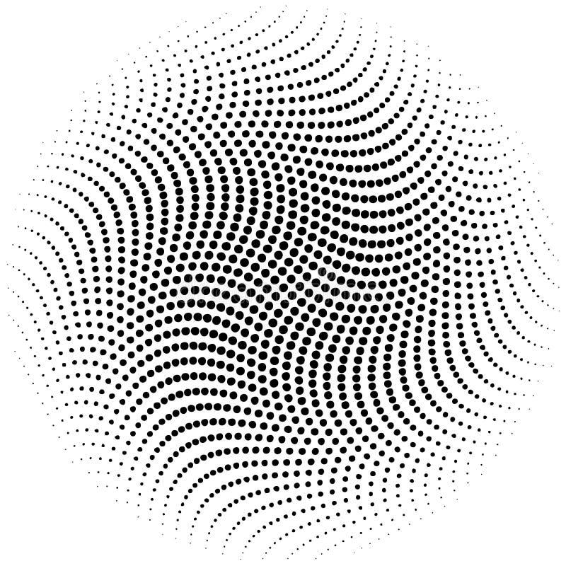 Vektorhalbtonpunkte vektor abbildung