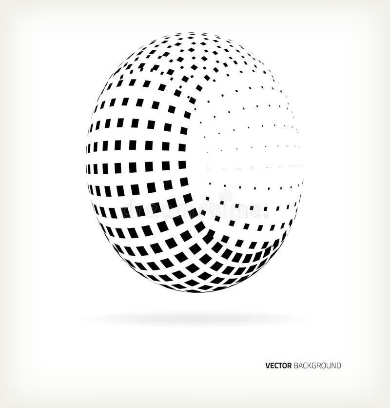 Download Vektorhalvtonprickar. vektor illustrationer. Illustration av element - 37345492