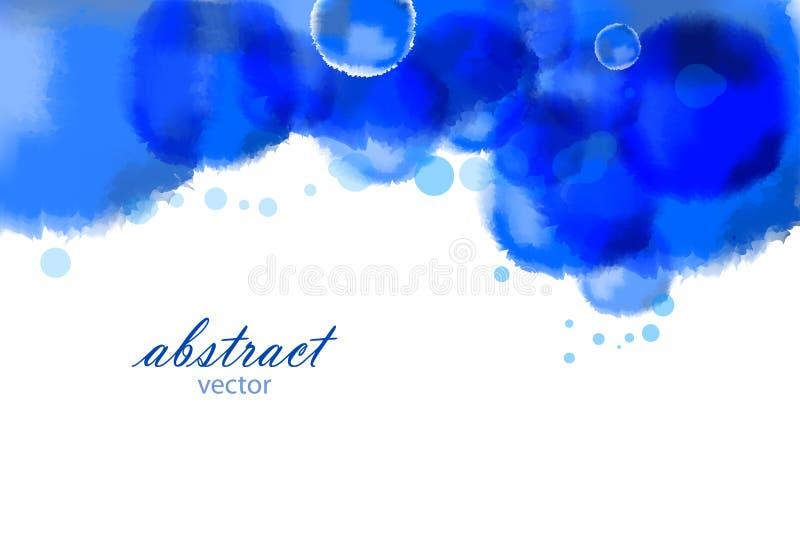 Download Vektorheller Aquarellhintergrund Stock Abbildung - Illustration von kühl, graphik: 26353029