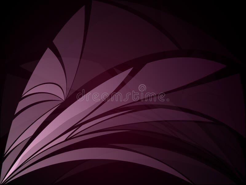 Vektorhintergrund mit dunkelgrauen Metallschichten Vektorillustration RGB ENV 10 vektor abbildung
