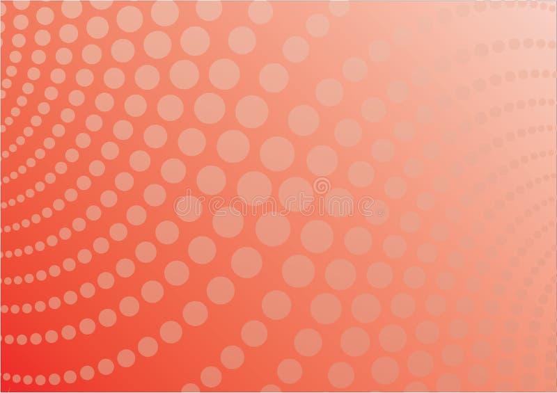 Vektorhintergrundorange vektor abbildung