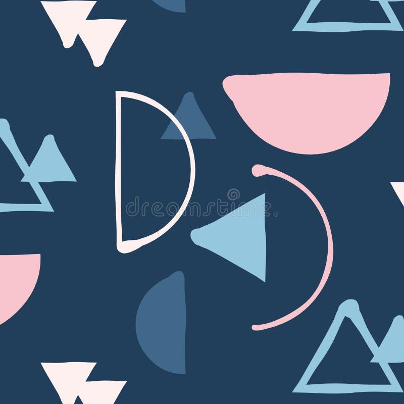 Vektorhipsterblandning och minimalistic modell för match vektor illustrationer