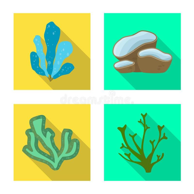 Vektorillustration av biologisk mångfald- och naturlogoen Ställ in av biologisk mångfald och djurlivvektorsymbolen för materiel vektor illustrationer