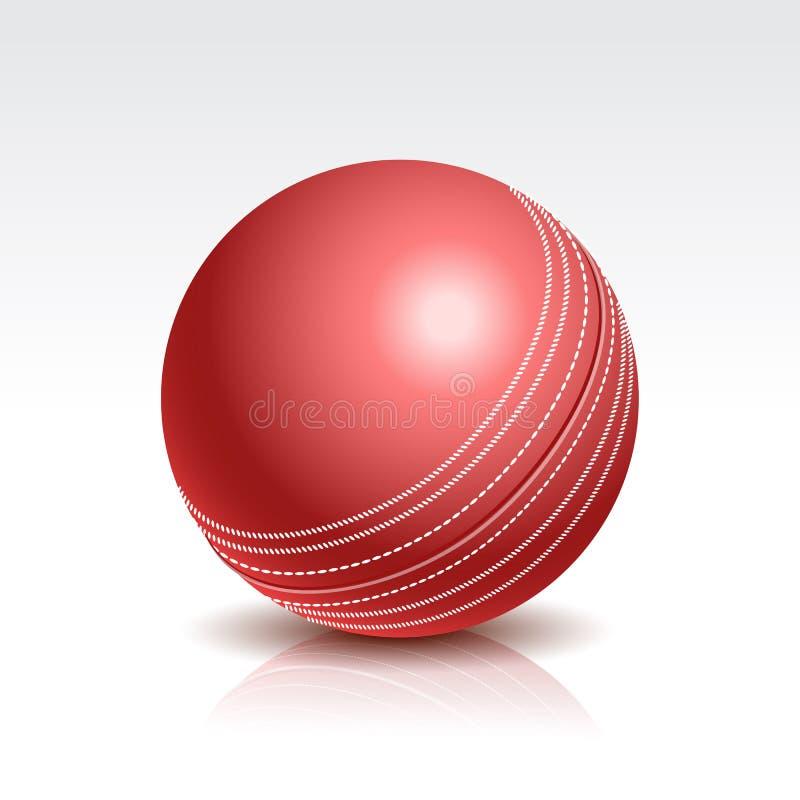 Vektorillustration av en syrsaboll vektor illustrationer