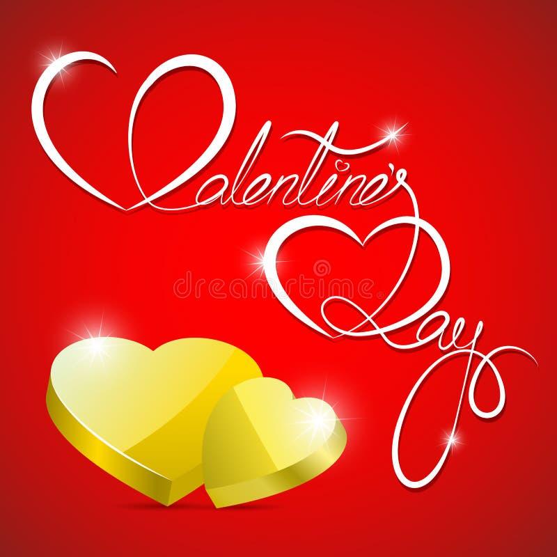Valentin dag vektor illustrationer