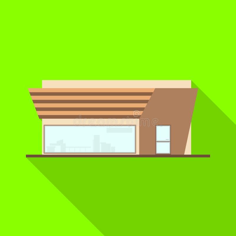 Vektorillustration av stormarknaden och det moderna symbolet Ställ in av illustration för stormarknad- och reklamfilmmaterielvekt vektor illustrationer