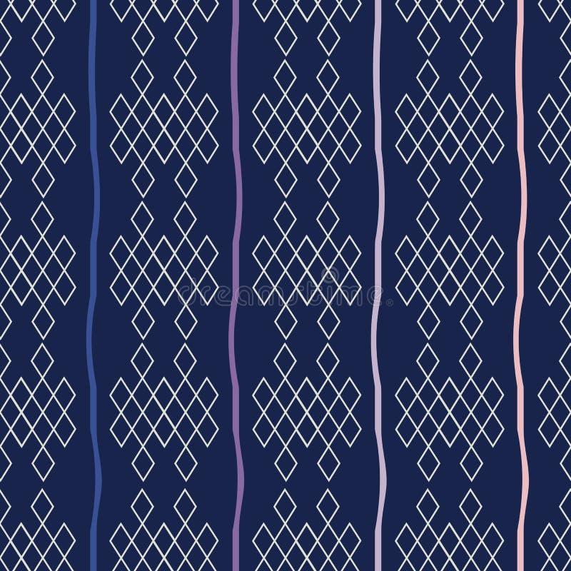 Vektorillustration av traditionella beståndsdelar, prydnader och symboler vektor illustrationer