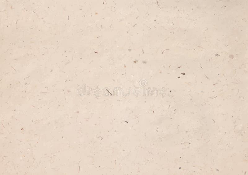 Vektorillustration der Kraftpapierbeschaffenheit stockfoto