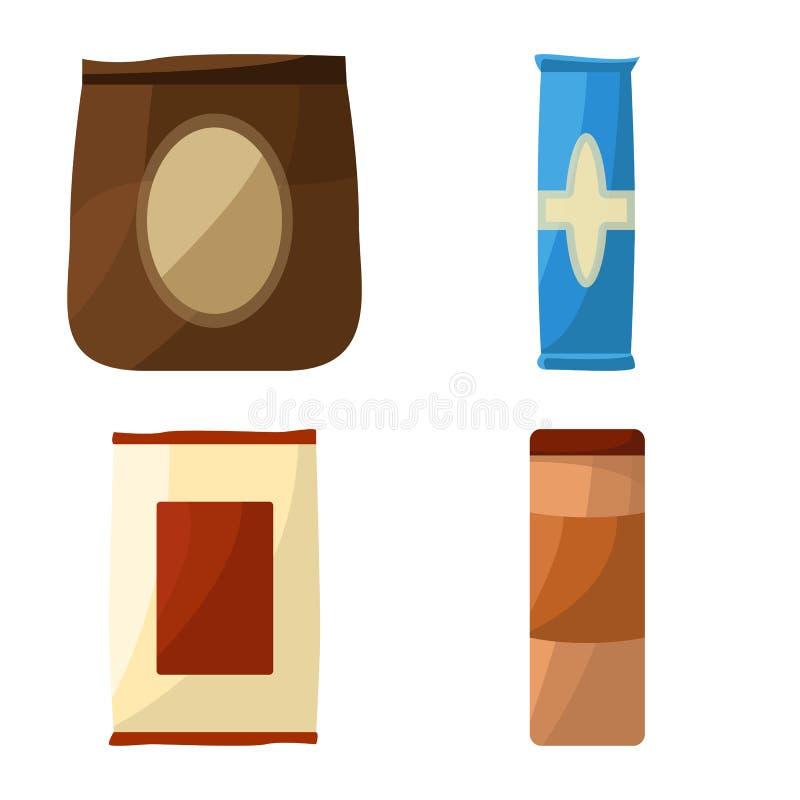 Vektorillustration des Verkauf- und Service-Zeichens Stellen Sie von der Verkauf- und Imbissvektorikone für Vorrat ein stock abbildung
