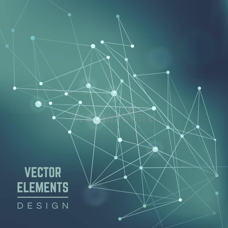 vektorillustration ENV 10 Abstrakter vektorhintergrund vektor abbildung