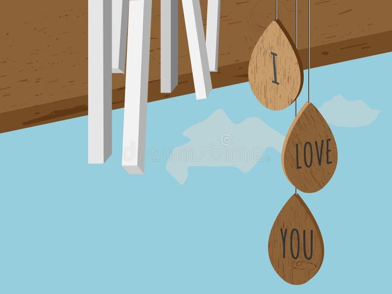 Vektorillustration för dag för valentin` s royaltyfri illustrationer