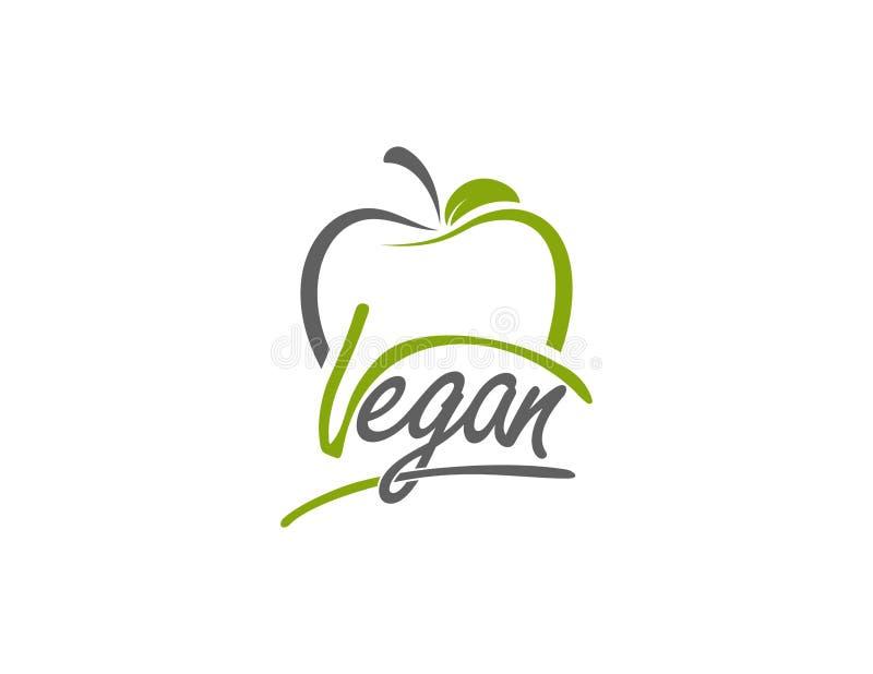 Vektorillustration, Lebensmitteldesign Handgeschriebene Beschriftung für Restaurant, Cafémenü Vector Elemente für Aufkleber, Logo stock abbildung