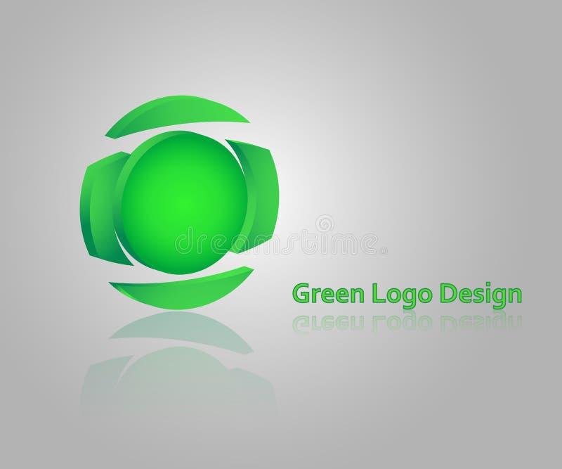 Vektorillustrationlogotyp stock illustrationer