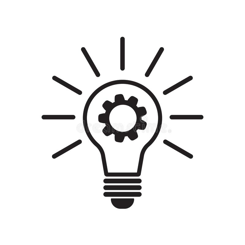 Vektorinnovation Ikone stock abbildung