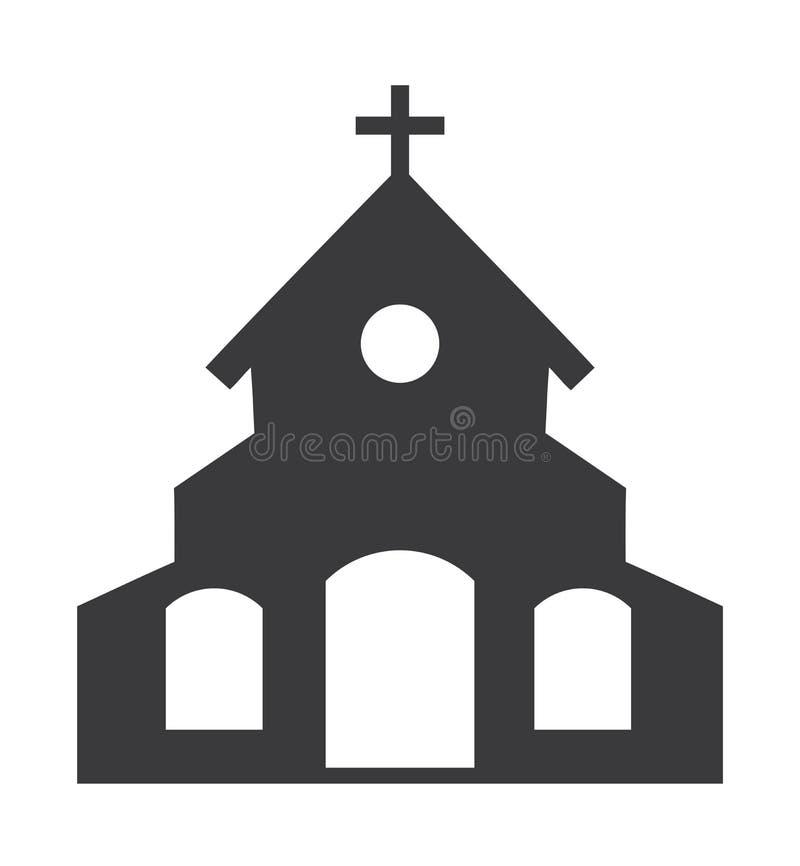 Vektorkirchenikone stock abbildung