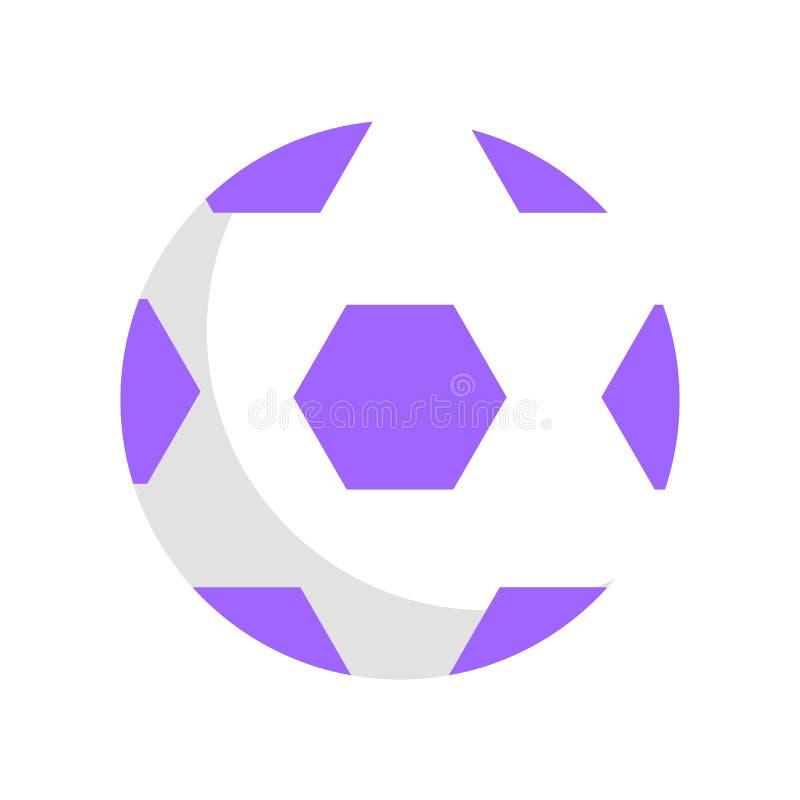 Vektormall av fotbollbollen för barn vektor illustrationer