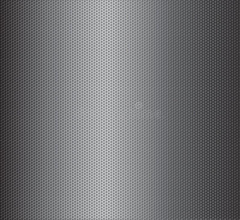 Vektormetallgaller vektor illustrationer