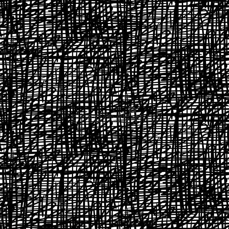Vektormuster mit gebürsteter Oberfläche stock abbildung