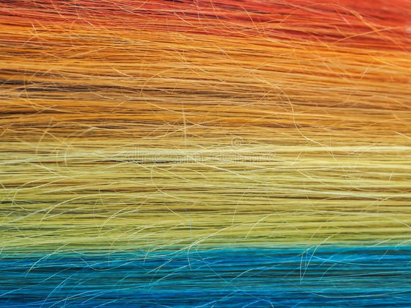 vektorn för dräkter för bakgrundsillustratinregnbågen wallpaper den seamless gott Mång--färgat hår close upp fotografering för bildbyråer