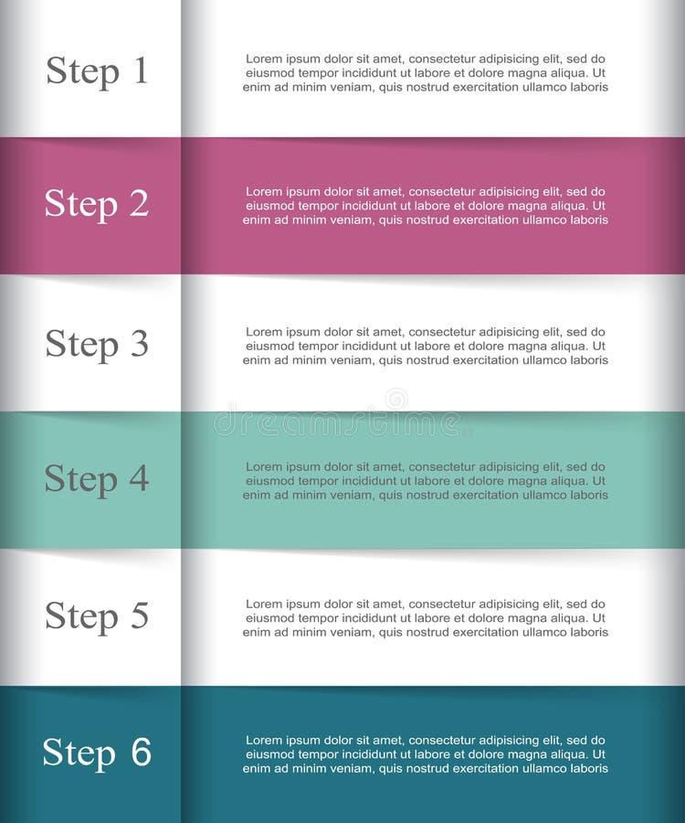 Vektorn fodrar infographic stock illustrationer