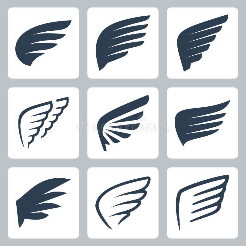 Vektorn påskyndar symboler vektor illustrationer