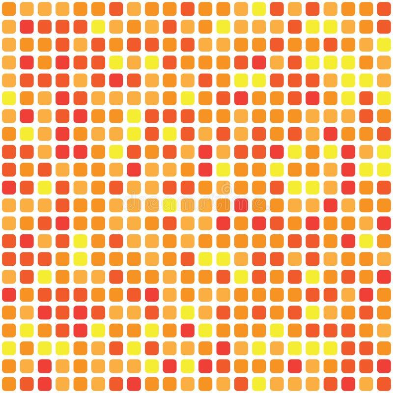Vektorpalett 484 former i röd gamma kaotiskt spridd vektor illustrationer