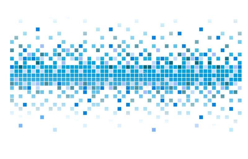 Vektorpixel lizenzfreie abbildung