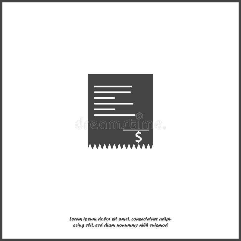 Vektorräkningsymbol på vit isolerad bakgrund Lager som grupperas för lätt redigerande illustration stock illustrationer
