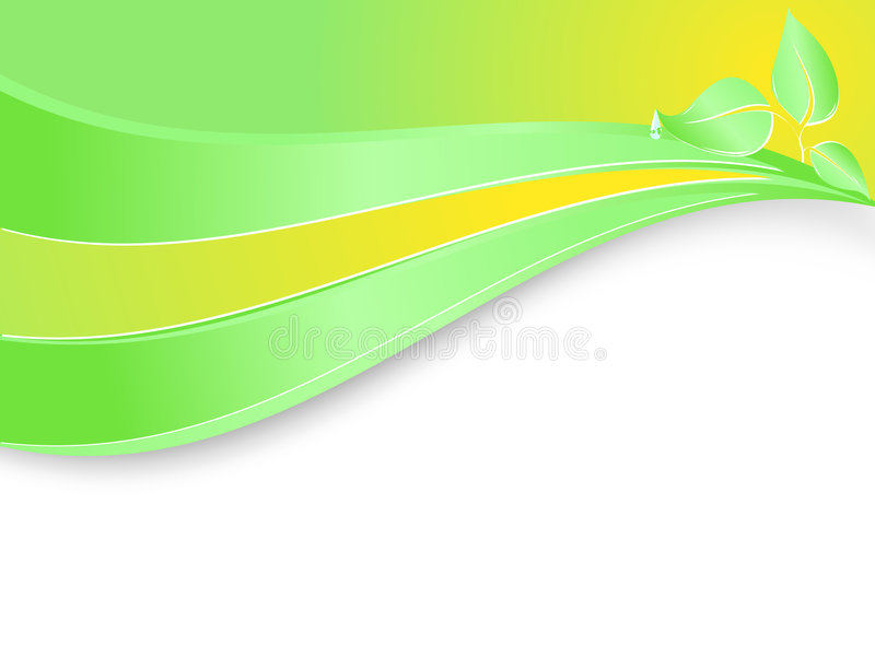 Vektorschablone für Umweltfirma vektor abbildung