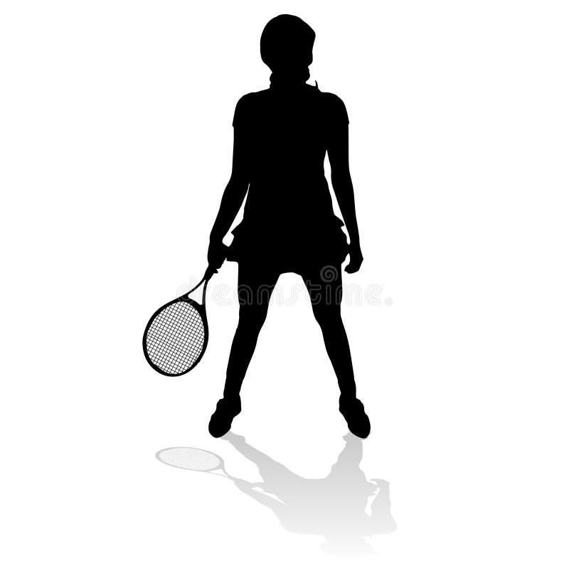 Download Vektorschattenbild Einer Frau Vektor Abbildung - Illustration von athlet, erholung: 47100636