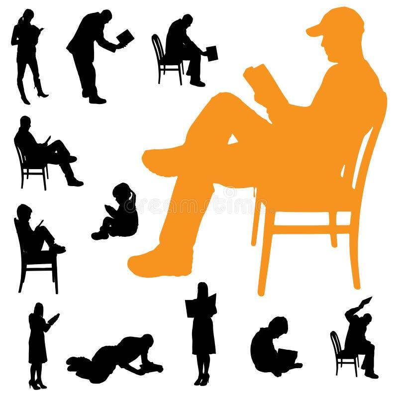 Download Vektorschattenbild Leute vektor abbildung. Illustration von erwachsener - 47100957