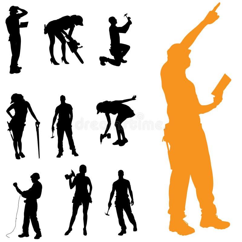 Download Vektorschattenbild Von Leuten Vektor Abbildung - Illustration von team, farbe: 47100885
