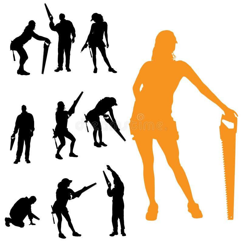 Download Vektorschattenbild Von Leuten Vektor Abbildung - Illustration von vektor, leute: 47100961