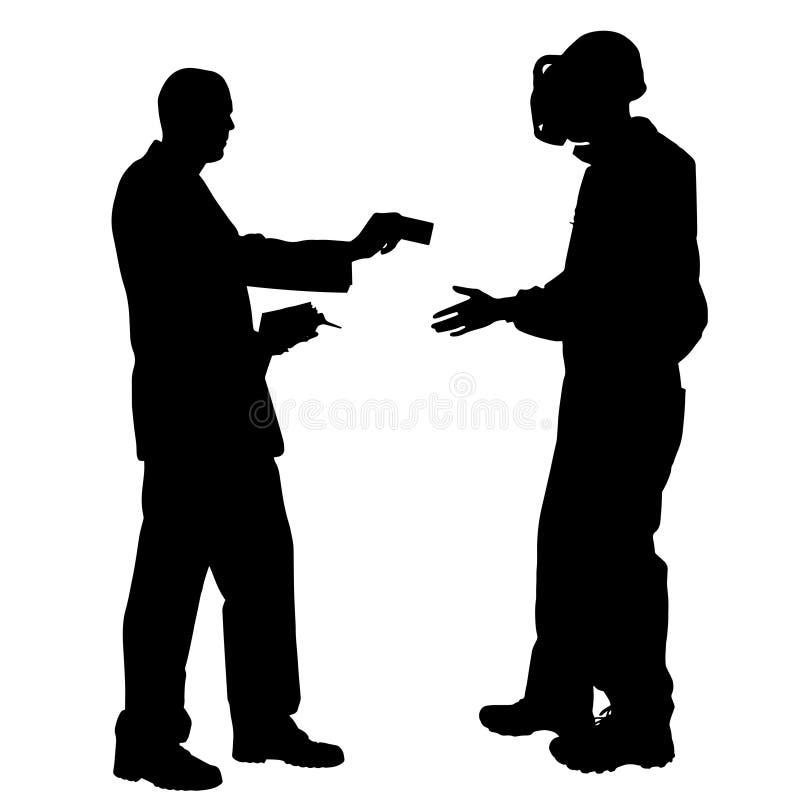 Download Vektorschattenbild Von Paaren Vektor Abbildung - Illustration von falsch, dollar: 47100792