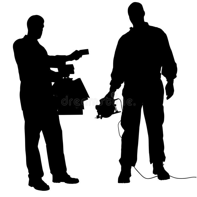 Download Vektorschattenbild Von Paaren Vektor Abbildung - Illustration von schattenbild, verbrechen: 47100794