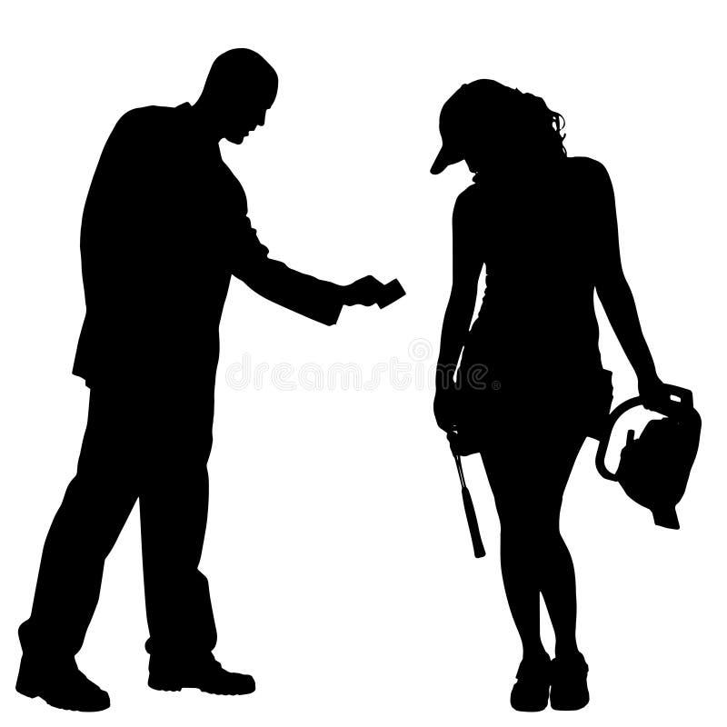 Download Vektorschattenbild Von Paaren Vektor Abbildung - Illustration von lebensstil, hintergrund: 47100940