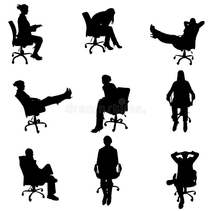 Download Vektorschattenbilder Von Leuten Vektor Abbildung - Illustration von vektor, jung: 47100620