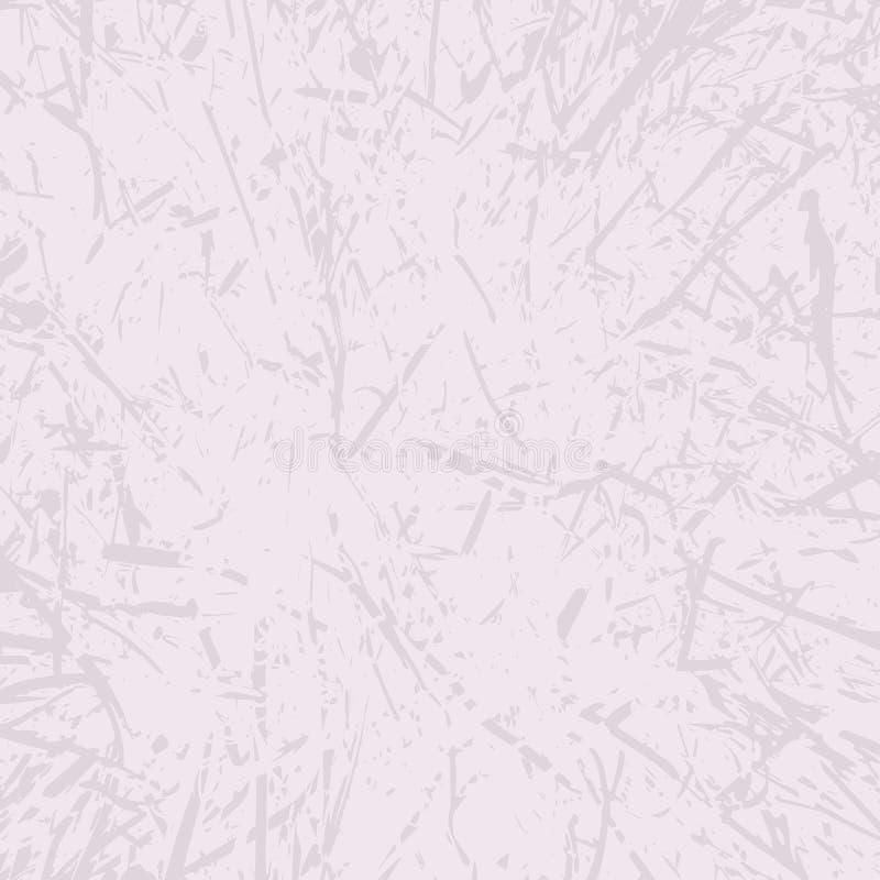 Vektorschmutz-Beschaffenheitshintergrund Wand mit Kratzern lizenzfreie abbildung