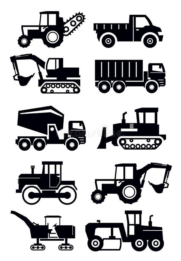 Bautransport stock abbildung