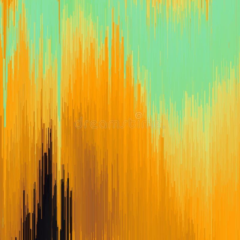Vektorstörschubhintergrund Digitalbilddatenverzerrung Bunter abstrakter Hintergrund für Ihre Designe CH stock abbildung