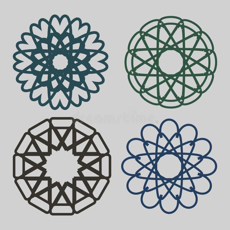 Vektorsymbole stockbild