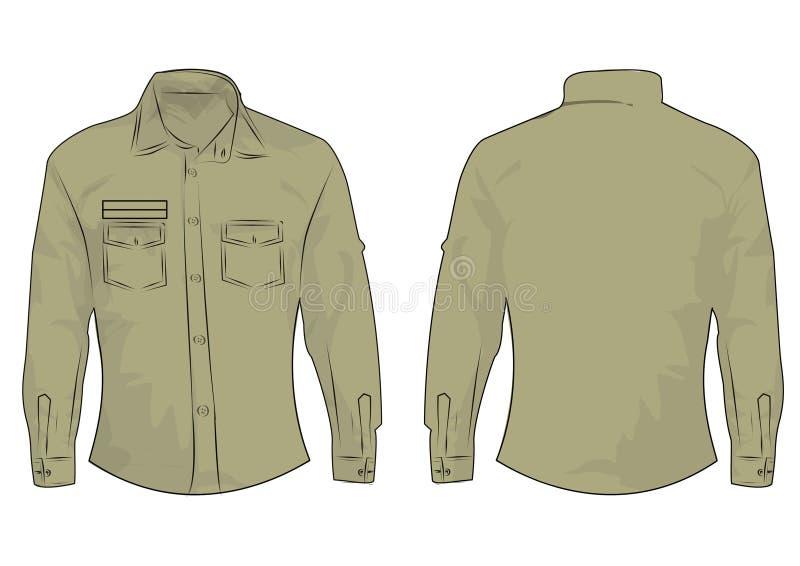 VektorT-tröjamall som isoleras på choklad arkivfoton