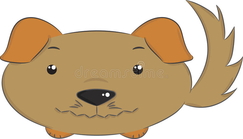 Vektortiere, Hund lizenzfreie stockbilder