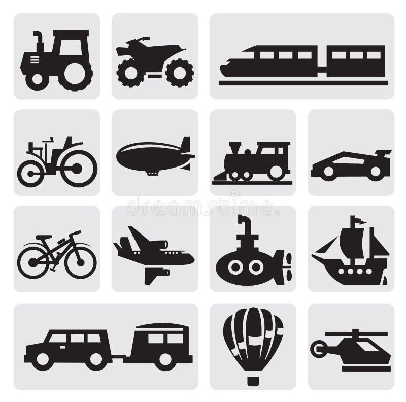 Vektortrans. royaltyfri illustrationer