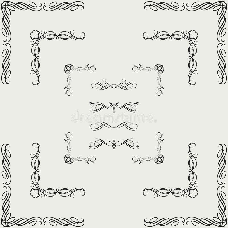 Download Vektoruppsättning stock illustrationer. Illustration av målarfärg - 37348620